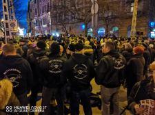 A fehér rassz ellenségei ellen demonstráltunk…
