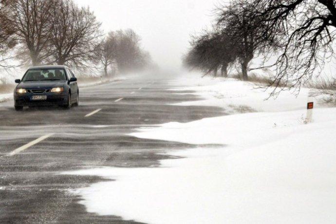 Elsőfokú riasztás van érvényben Közép- és Kelet-Szlovákiában hóátfúvások kialakulása miatt