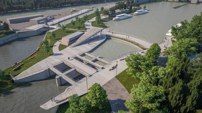 Különleges fejlesztés a Balatonnál, nem mindennapi a látvány