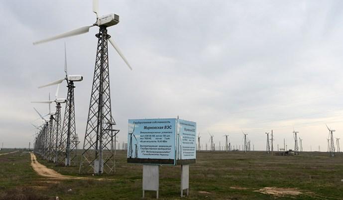 A Krímben teljes egészében helyreállították az energiaellátást