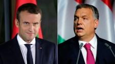 Macron beszólt, Orbán visszaszólt