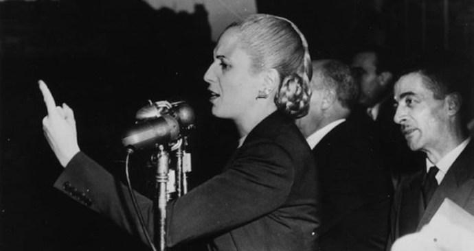 Német nemzetiszocialisták is támogatták az Argentínában bálványozott Eva Perónt