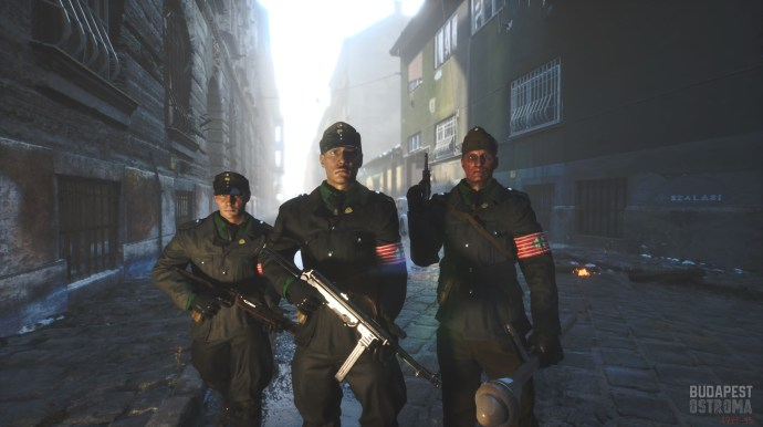 Virtuális háború Budapest utcáin