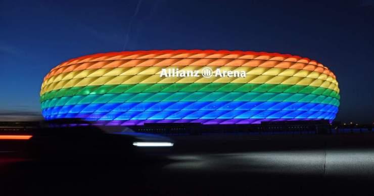 Elutasította az indítványt az UEFA, nem lesz szivárványszínű a müncheni stadion