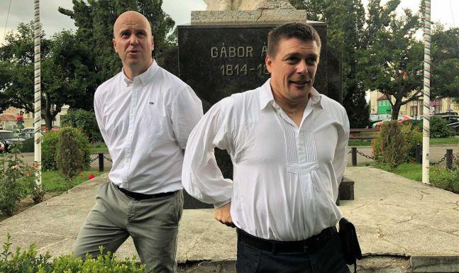 Az SZNT kitüntette Beke Istvánt és Szőcs Zoltánt