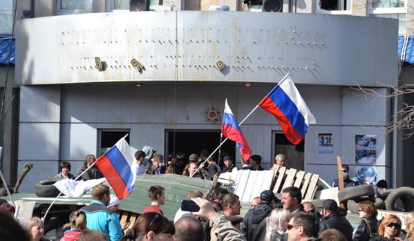 Luganszkba haditechnikát vezettek be