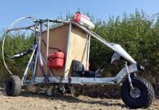 Házilag gyártott kisrepülővel jutott át a szlovák határon egy ukrán férfi