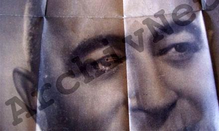 Golyó Rákosi Mátyás szemébe