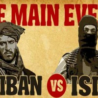 Egymásnak esett az Iszlám Állam és a Tálibok (Képgaléria+18)