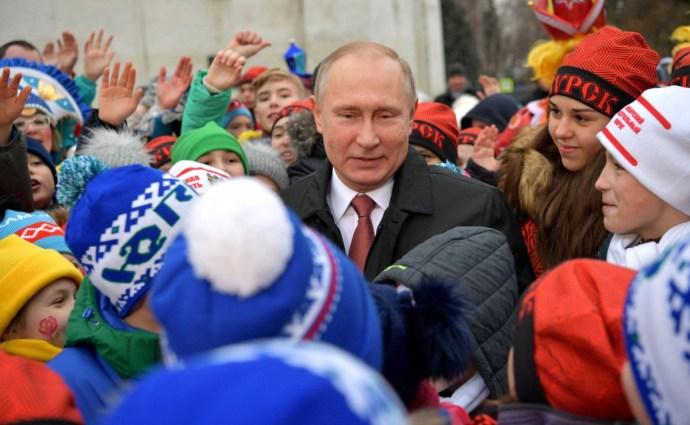 Beszóltak a gyerekek Putyinnak