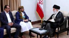 A jemeni ellenállás vezetői Iránba látogattak