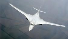 A modernizált Tu-160-as első felszállása