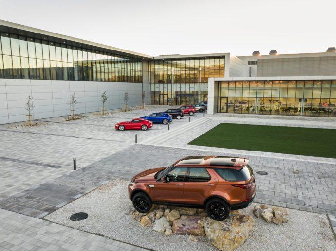 Beindult a szlovák Jaguar Land Rover