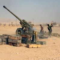 A Szíriai Arab Hadsereg a Daesh terrorszervezet olajszállító konvoját semmisítette meg Palmyra közelében