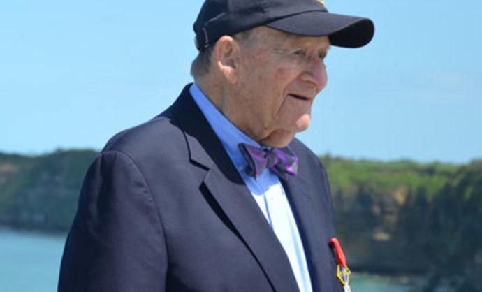 A D-nap hősének tartották, 96 évesen beismerte, hogy ott sem volt