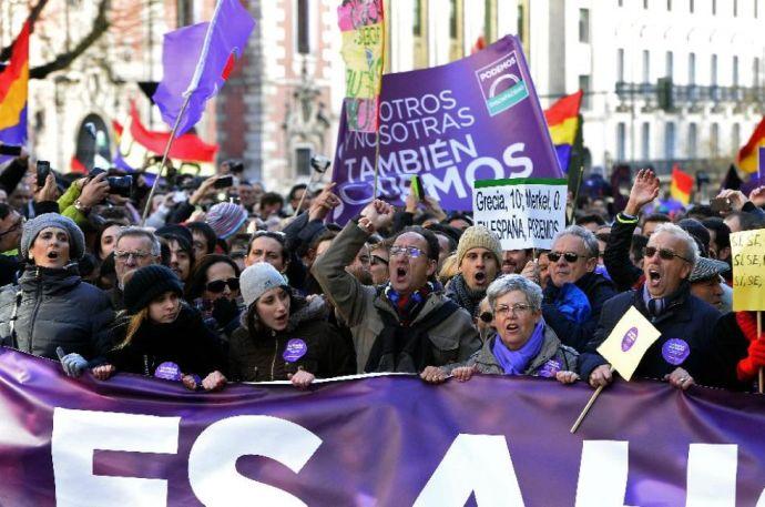 """Görögországhoz hasonló változásokat követel a """"spanyol Sziriza"""""""