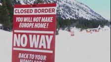 A francia-olasz határt a migránsoktól védő Identitárius Nemzedék járőrözését betiltották