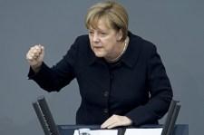 Merkel lelki összeomlás előtt (Huffington Post)