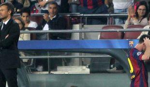 Messinek tele lett a hócipője Luis Enriquével