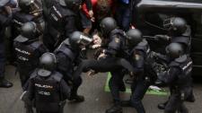Az Európai Bizottság óvatos a katalóniai erőszak elítélésével; az ENSZ viszont lépett