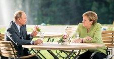 Nem hozott nagy áttörést Merkel és Putyin németországi találkozója