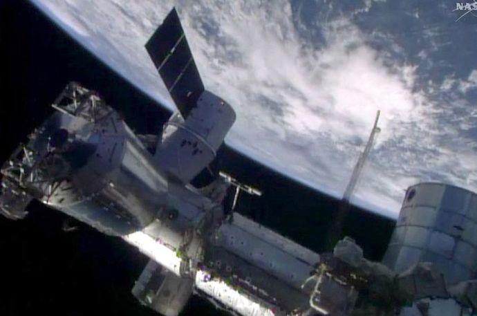 Planktonokat találtak a Nemzetközi Űrállomás külső felületén