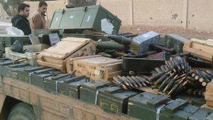 Európai fegyvereket találtak a szíriai terroristáknál