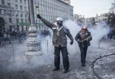 Több mint 200 ember sérült meg a kijevi zavargásokban