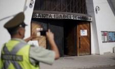 A Magyarországi Szent Erzsébet-plébániatemplomot is megrongálták a pápa miatt Chilében