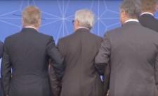 Juncker annyira be volt készülve a NATO-csúcson, hogy Finnország és Ukrajna támogatása nélkül talpon se maradt volna