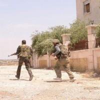 A Szíriai Arab Hadsereg a napokban végrehajtott hadműveletei