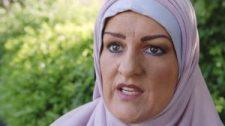 Szétalázták a brit nőt, aki egy hétig muszlimnak öltözve járt-kelt az utcán (Videó)