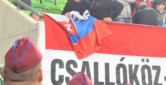 A szlovák külügy elítéli a magyar-szlovák meccsen történteket, behívatták a magyar nagykövetet