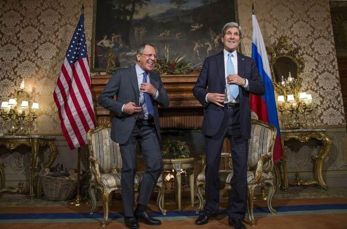 Orosz–amerikai külügyi csúcs, távol Amerikától