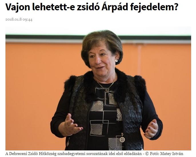 """Megint nincs elég antiszemétizmus, rá kellene segíteni egy kicsit? Árpád fejedelem """"lehetséges zsidóságáról"""" értekeztek a Zsidó Szabadegyetemen"""