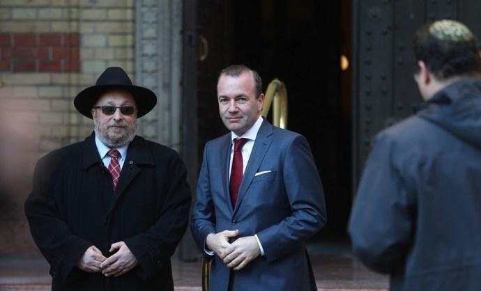 Weber: nem sikerült minden problémát megoldani Orbánnal
