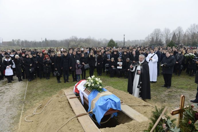 Jégkorong – Eltemették Rajz Attila korábbi válogatott jégkorongozót