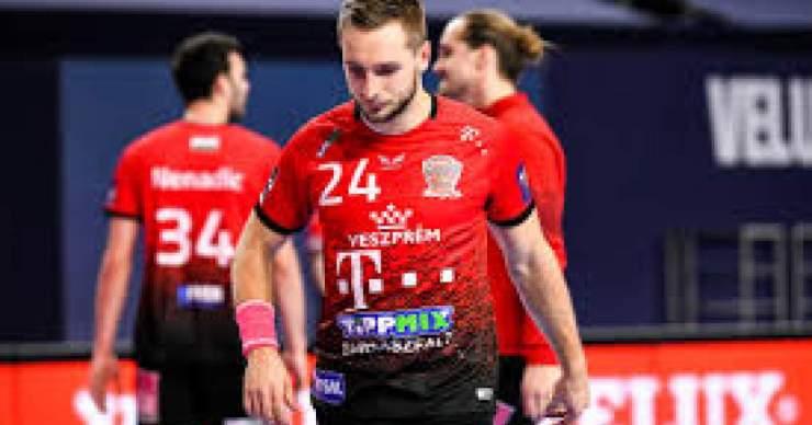 Négygólos hátrányban a Veszprém a negyeddöntőben
