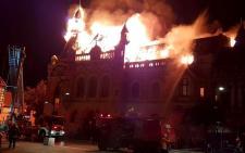 Leégett a nagyváradi görög-katolikus püspöki palota