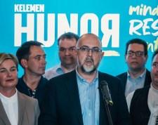 87 százalékos feldogozottság után ennyi szavazata van Kelemen Hunornak