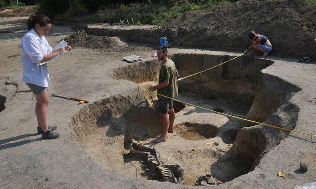 Érdekes leletek kerültek elő a bonyhádi ásatáson