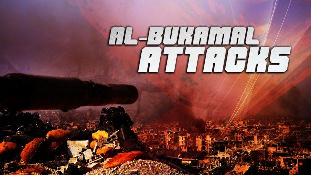 A Szíriai Arab Hadsereg visszaverte az ISIS terrorszervezet Al-Bukamal elleni támadásait
