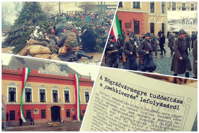 Csehkiverés Balassagyarmaton – képekben