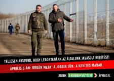 Hiába nyert bizonyítást, hogy a Jobbik nem épített volna kerítést a határra, e téren is folytatják a hazudozást