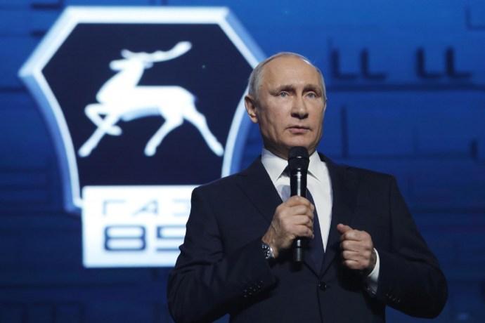 A GAZ-gálán Putyin végül kimondta, amire mindenki várt