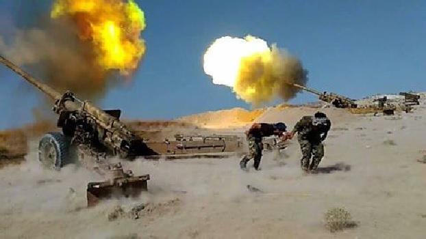 Hadi helyzet a Szíriai sivatagban (videók)