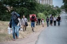 Szíriai menekültek mondták el véleményüket a határzárról