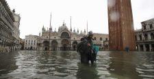 Víz alatt Velence – Képek