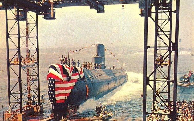Az Északi-sark jégpáncélja sem okozott gondot a világ első atom-tengeralattjárójának