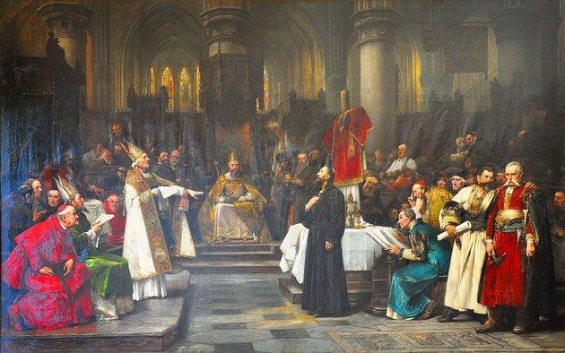 Husz János 1415-ös kivégzése igencsak komikusra sikeredett